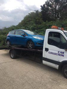 scrap car harrow