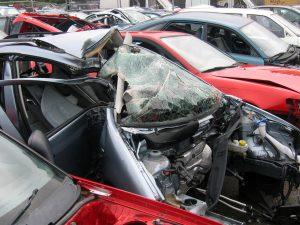 scrap car hatch end