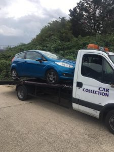 scrap car removal ponders end